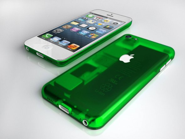 iPhone G3 green